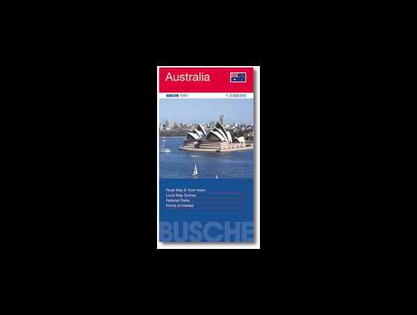 Busche Straßenkarte Australien 1:5.000.000
