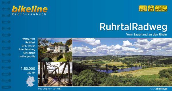 Ruhrtal-Radweg, Bikeline Radwanderführer mit Karte, Esterbauer
