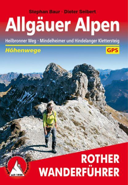 Allgäuer Alpen, Wander- und Klettersteigführer, Rother