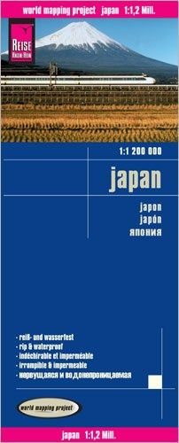 Japan Landkarte 1:1.200.000, Reise Know-How