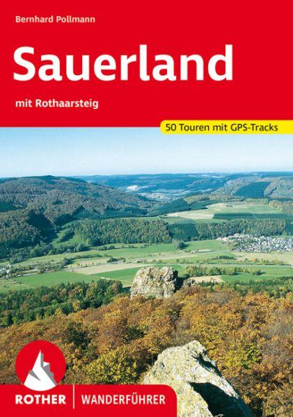 Sauerland mit Rothaarsteig Wanderführer, Rother