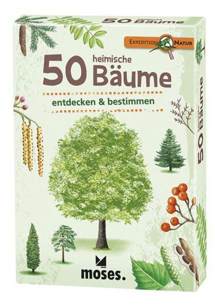 50 heimische Bäume entdecken und bestimmen, Moses Verlag