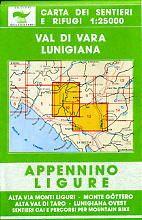 Edition Multigraphic 10/12, Val di Vara Lunigiana, Ligurien, 1:25.000