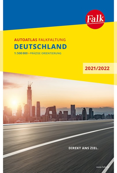 Deutschland Autoatlas Falkfaltung, 1:500.000, Falk