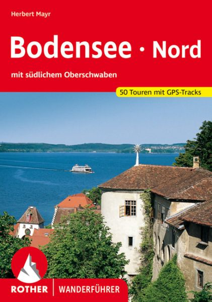 Bodensee Nord Wanderführer, Rother