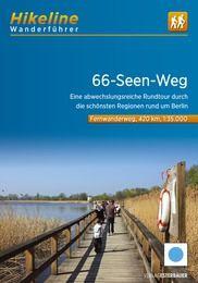 66-Seen-Weg, Hikeline Wanderführer und Karte
