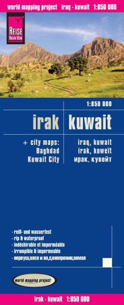 Irak & Kuwait Landkarte 1:850.000 von Reise Know-How