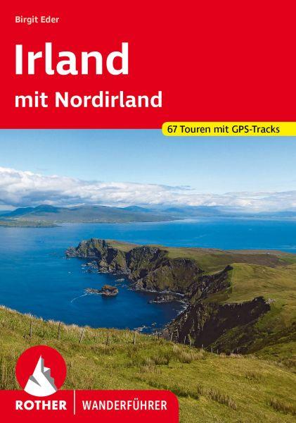 Irland mit Nordirland Wanderführer, Rother