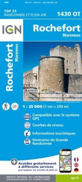 IGN 1430 OT Rochefort / Marennes, Frankreich Wanderkarte 1:25.000
