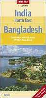 Nelles Maps, Nord-Ost Indien - Bangladesh 1:1.500.000