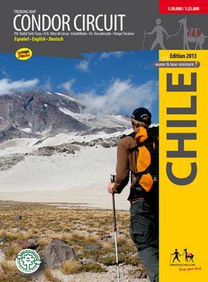 Wanderkarte Chile: Condor Circuit 1.100.000