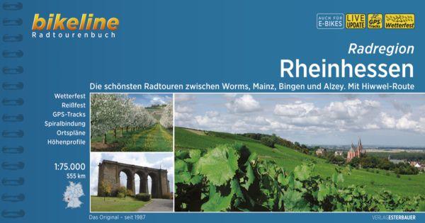 Rheinhessen, Bikeline Radwanderführer mit Karte, Esterbauer