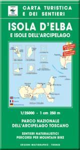 Edition Multigraphic 502, Insel Elba Wanderkarte; Toskana, 1:25.000