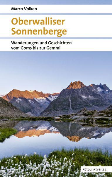 Oberwalliser Sonnenberge, Wanderführer, Rotpunktverlag