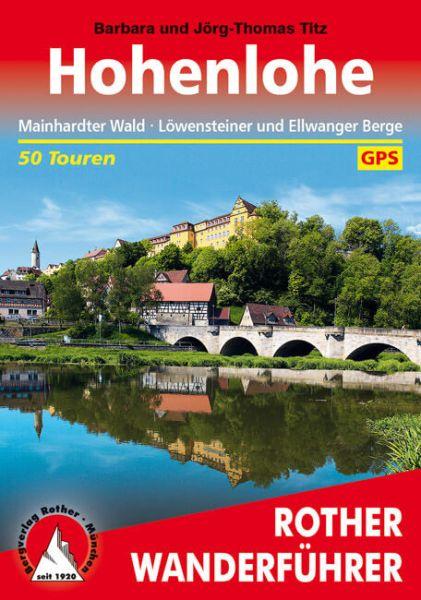Hohenlohe Wanderführer, Rother