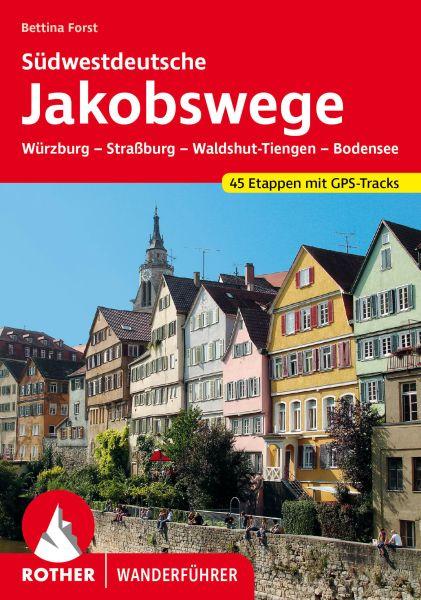 Südwestdeutsche Jakobswege Wanderführer, Rother