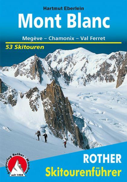 Mont Blanc Rother Skitourenführer