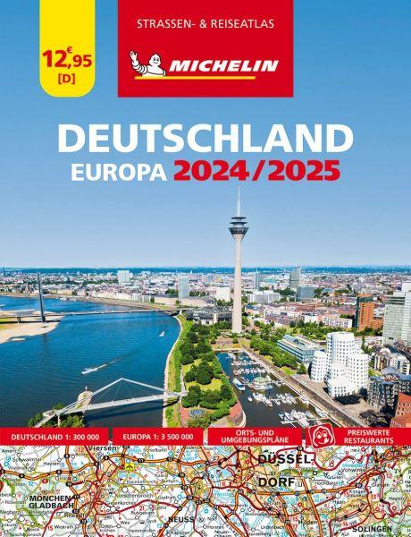 Deutschland Straßenatlas, 1:300.000, Michelin