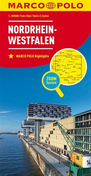 Nordrhein-Westfalen Straßenkarte 1:200.000, Marco Polo Bl. 05