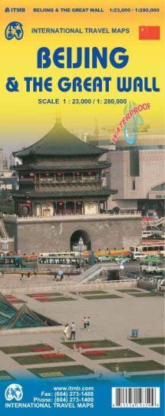 Peking Stadtplan & die Chinesische Mauer, ITM