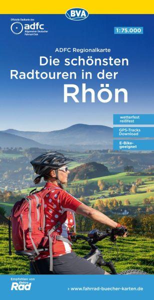 ADFC-Regionalkarte, Rhön, Radwanderkarte