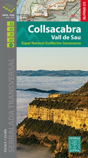 Collsacabra - Vall de Sau Wanderkarte 1:25.000 - Editorial Alpina
