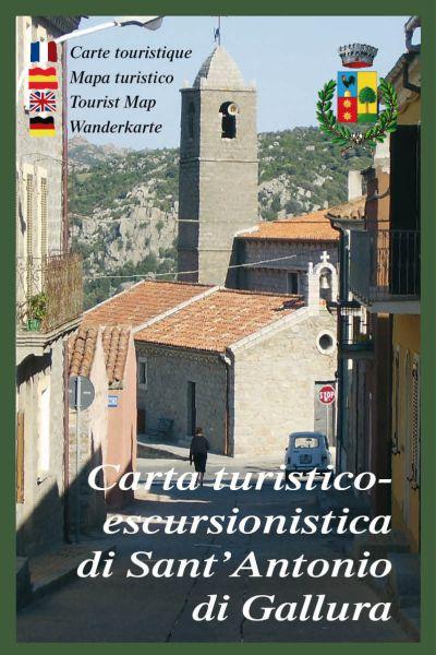 Sardinien Wanderkarte: Edizioni Abies Sant' Antonio di Gallura 1:25.000