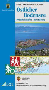 Freizeitkarte Blatt F529 Östlicher Bodensee, 1:50.000