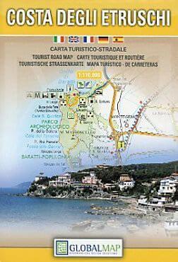 Toskana Freizeitkarte: Costa degli Etruschi / Etruskerküste 1:110.000
