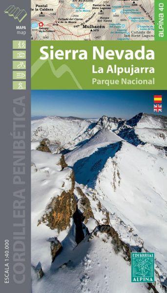 Sierra Nevada - La Alpujarra Wanderkarte 1:40.000 - Editorial Alpina
