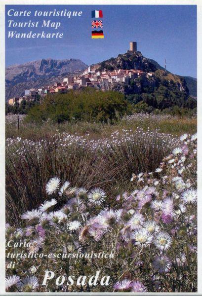 Sardinien Wanderkarte: Edizioni Abies: Posada 1:25.000
