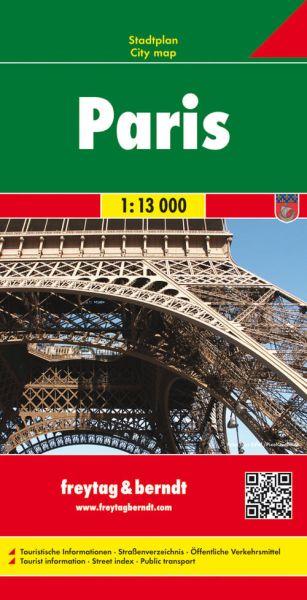 Paris, Stadtplan 1:13.000, Freytag und Berndt