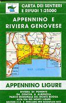 Edition Multigraphic 3/4, Appennino e Riviera Genovese, Ligurien, 1:25.000