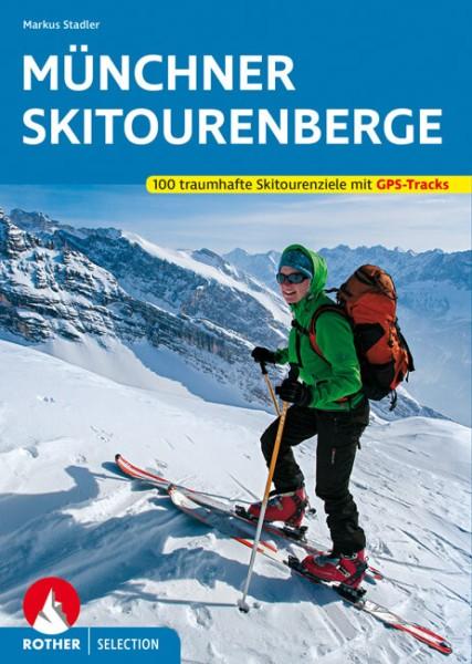 Münchner Skitourenberge, Skitourenführer, Rother
