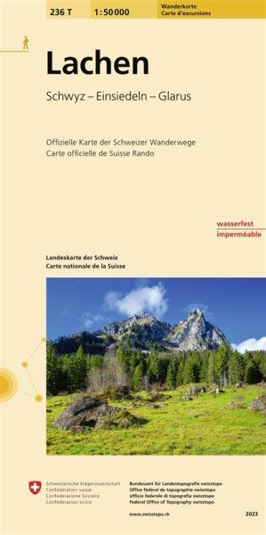 236 T Lachen Wanderkarte 1:50.000 - Swisstopo