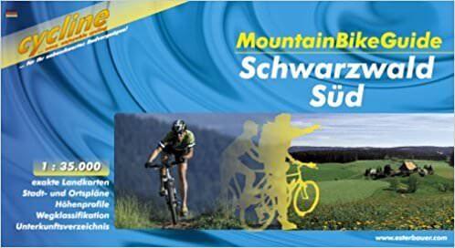 Schwarzwald Süd, Bikeline Mountainbikeführer mit Karte, Esterbauer