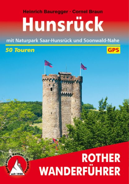 Hunsrück Wanderführer, Rother