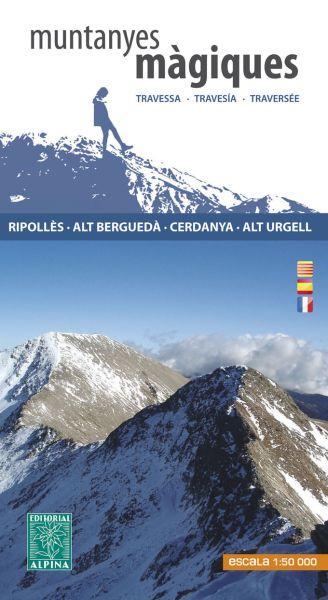Muntanyes Màgiques Wanderkarte 1:50.000 - Editorial Alpina