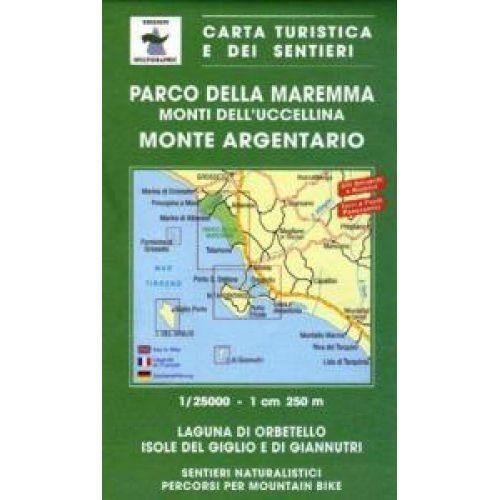 Edition Multigraphic 504, Parco della Maremma Toskana, 1:25.000