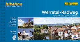 Werratal-Radweg Bikeline Radwanderführer mit Karte, Esterbauer