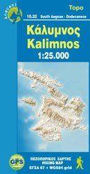 Kalymnos Wanderkarte 1:25.000, Anavasi 10.32, Griechenland, wetterfest