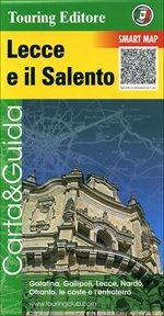 Salento Straßenkarte, Lecce e il Salento (Apulien) 1:175.000