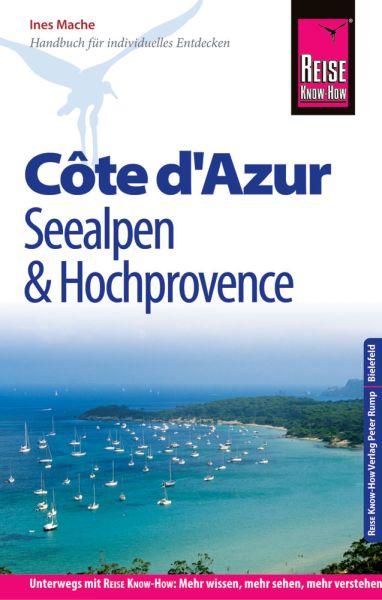 Côte d'Azur, Seealpen, Hochprovence Reiseführer - Reise Know-How