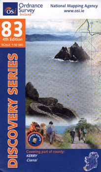 OSI 83 Kerry Wanderkarte 1:50.000 - Ordnance Survey Ireland