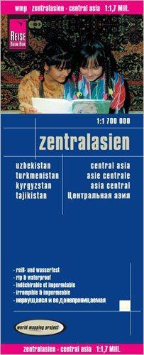 Zentralasien Landkarte 1:1.700.000, Reise Know-How
