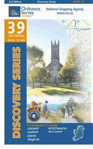 OSI 39 Galway, Mayo, Roscommon Wanderkarte 1:50.000