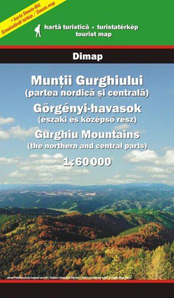 Karpaten Wanderkarte: Muntii Gurghiului / Gurghiu-Gebirge