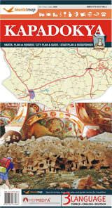 Karte Türkei Kappadokien.Kappadokien Straßenkarte 1 250 000 Touristmap Türkei