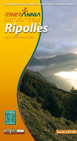 Ripollès Wanderkarte 1:50.000 - Editorial Alpina
