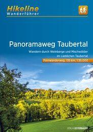 Taubertal Panoramaweg, Hikeline Wanderführer mit Karte, Esterbauer